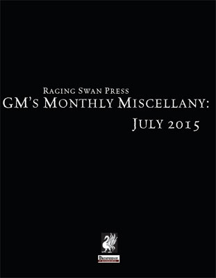 GM's Monthly Miscellany: July 2015