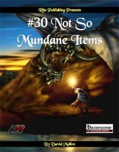 #30 Not so Mundane Items