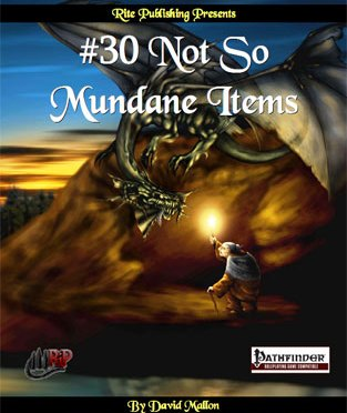 A Review of the Role Playing Game Supplement #30 Not so Mundane Items