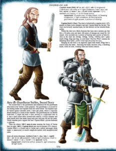 An interior image from Sword of Air - Swords and Wizardry