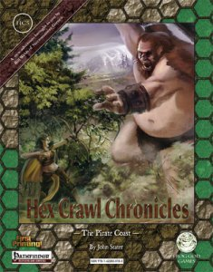 Hex Crawl Chronicles 5 - The Pirate Coast - Pathfinder Edition