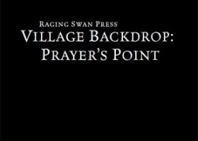 Village Backdrop: Prayer's Point