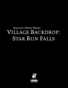Village Backdrop: Star Run Falls