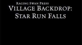 Village Backdrop: Star Run Falls