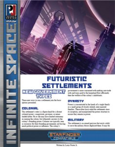 Infinite Space: Futuristic Settlements