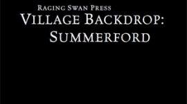 Village Backdrop: Summerford
