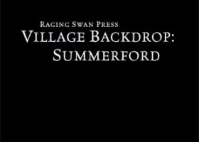 Village Backdrop: Summerford