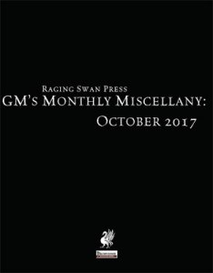 GM's Monthly Miscellany October 2017