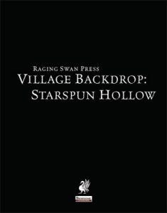Village Backdrop: Starspun Hollow