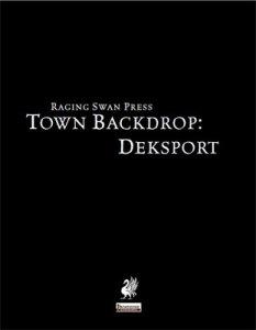 Town Backdrop: Deksport