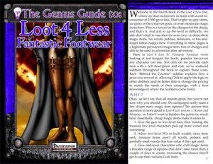 The Genius Guide to Loot 4 Less Vol. 4: Fantastic Footwear