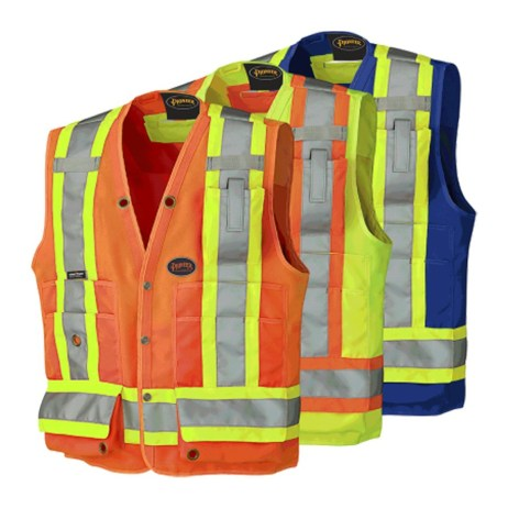 Hi-Viz Surveyor's Vests