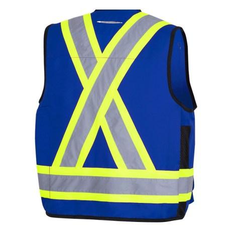 Royal Blue Vest Back