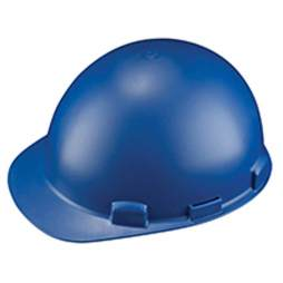 Blue Welding Hard Hat Stromboli by Dynamic