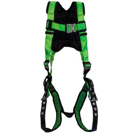premium harness with grommetted leg straps