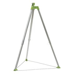 Tripod with Chain and Pulley