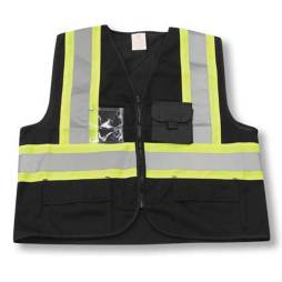 Big K Black Safety Vest