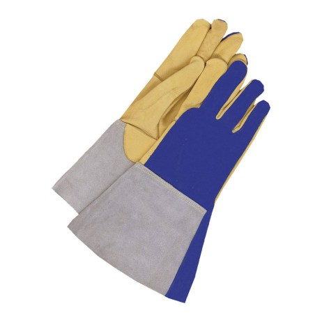 deerskin welding gloves