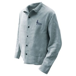 fr welding jacket cowhide