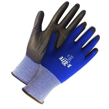 ninja lite blue gloves