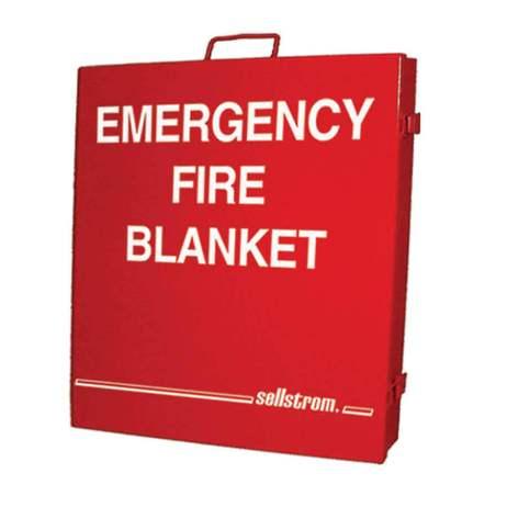 Emergency fiberglass welding blanket