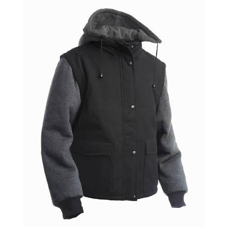 Zip-Off Sleeve Jacket