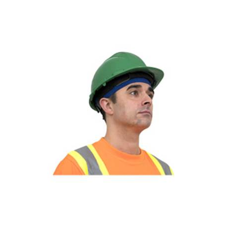 cooling head band with hard hat