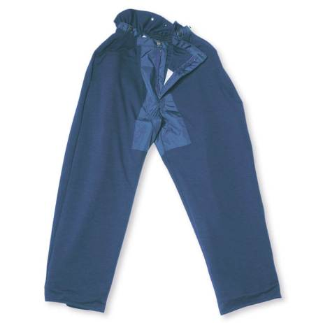 100% polyester chainsaw fallers pants blue