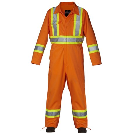 orange unlined coveralls