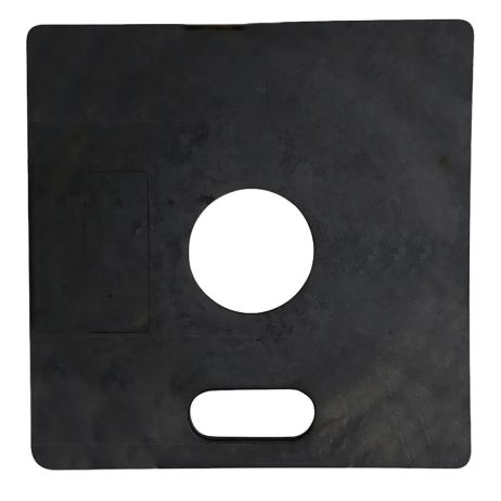 black square delineator base
