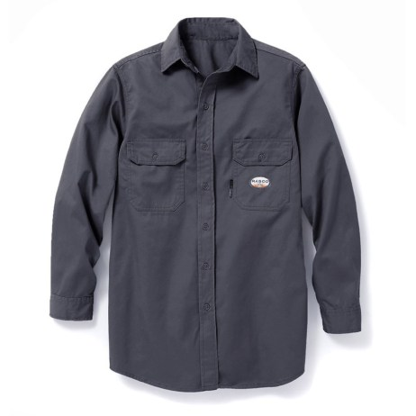 Grey FR Work Shirt