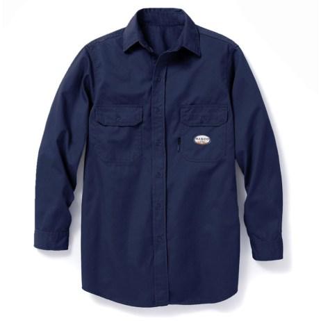Blue FR Work Shirt