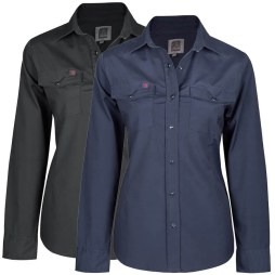 womens stretch work shirts