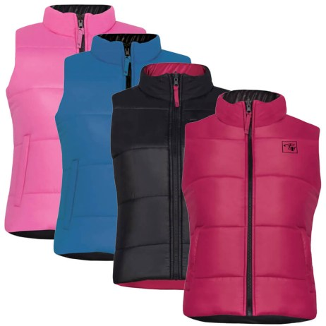 insulated polyester reversible vest