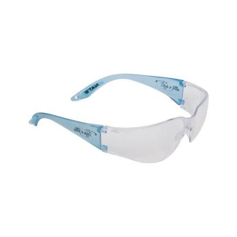 blue safety glasses