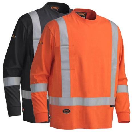 fr long sleeve safety shirt