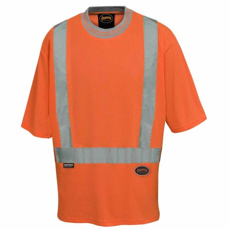 ladies hi-viz safety t-shirt