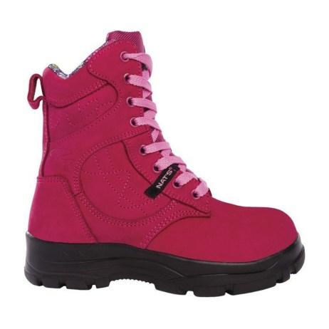 Raspberry Work Boot