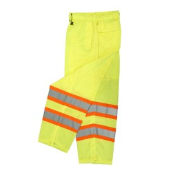 yellow surveyor safety pants