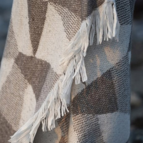 rylie loft throw with fringe