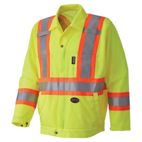 hi vis traffic safety jacket