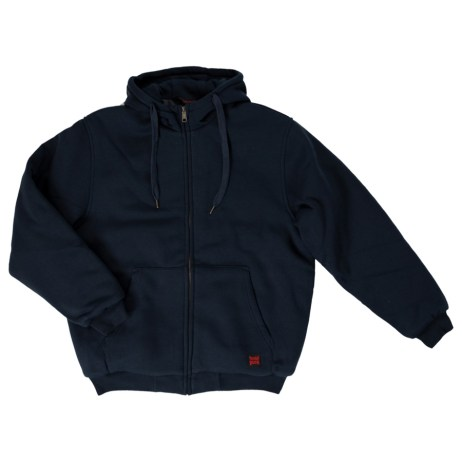 Navy Insulated Hoodie