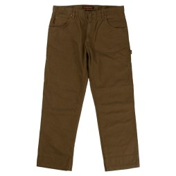 washed duck pant