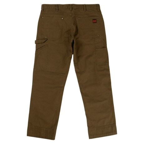 chestnut washed duck pant