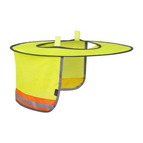 Foldable Hard Hat Sun Shade
