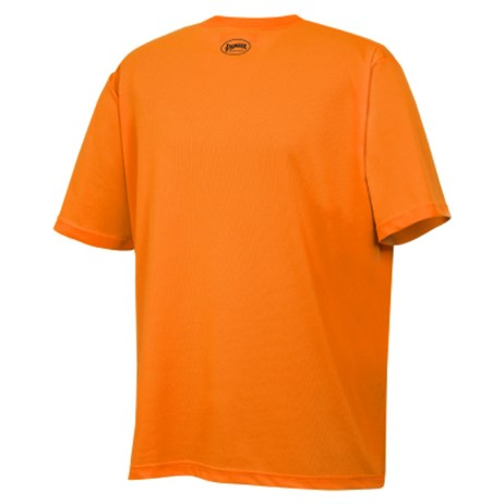 Orange Mesh Safety Shirt