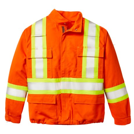 FR Orange Safety Jacket