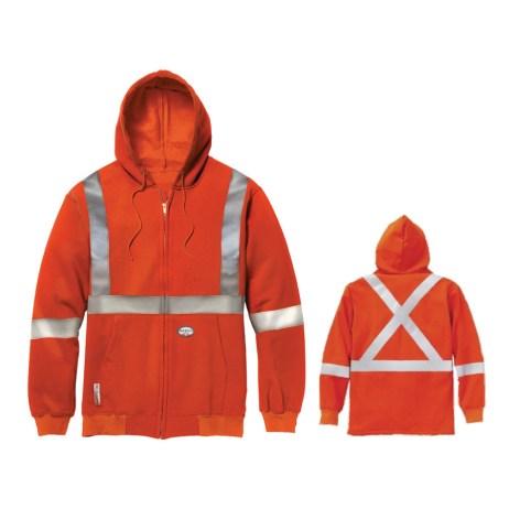 Orange FR Hoodie