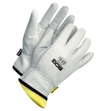 Winter Goatskin Driver Gloves