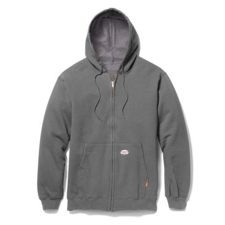 Grey FR Hoodie